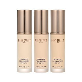PONY EFFECT - Seamless Foundation SPF30 PA++ 30ml (3 Colors)