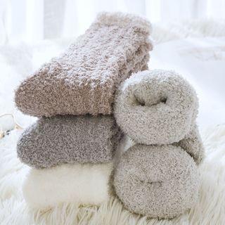 Mimiyu - Set of 3: Coral Fleece Socks
