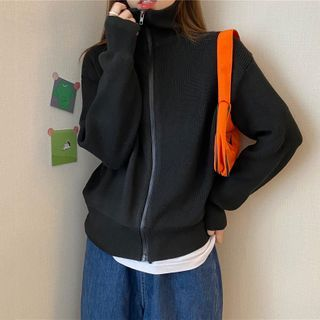 Sisyphi - Knit Zip Jacket