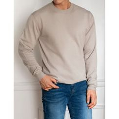 STYLEMAN - Crew-Neck Knit Top