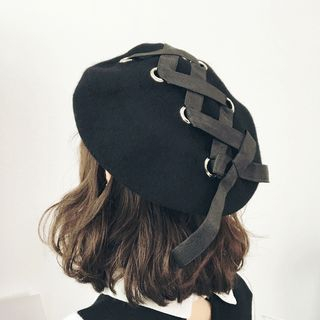 FROME - Lace-Up Beret