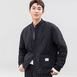 Orizzon - Plain Quilted Jacket