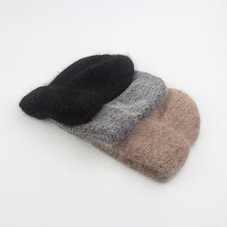 Cappello(カペッロ) - Rabbit-Wool Simple  Knit Beanie