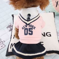 Salonga - Mock Two-piece Pet Dress