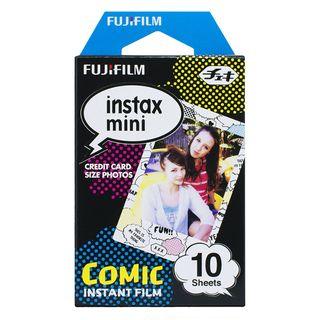 Fujifilm - Fujifilm Instax Mini Film (Comic) (10 Sheets per Pack)