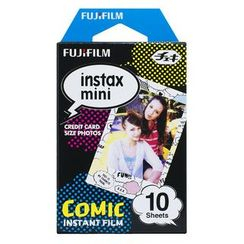 Fujifilm - Fujifilm Instax Mini Film (Comic) (10 Sheets per Pack)