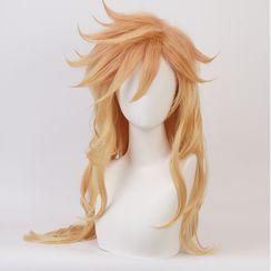 Macoss - 鬼滅之刃 - 上弦之貳 童磨角色扮演假髮