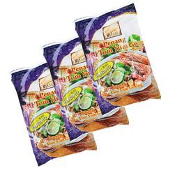 Grainee Foods - MyKuali Penang Red Tom Yum Goong Soup Noodle (3 packs)