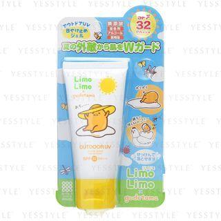 Meishoku Brilliant Colors - Limo Limo x Gudetama Outdoor UV Sunscreen SPF 32 PA+++