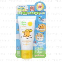 Meishoku Brilliant Colors - Limo Limo x Gudetama Outdoor UV Sunscreen SPF 32 PA+++