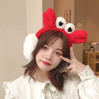 Chimi Chimi - 螃蟹毛絨耳罩