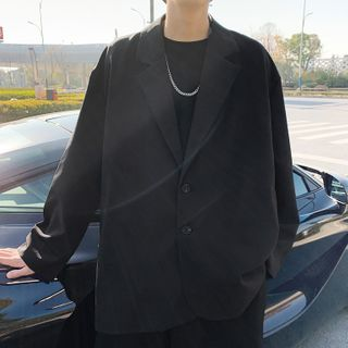 YERGO - 单排扣西装外套
