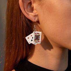 B.muse - Poker Dangle Earring