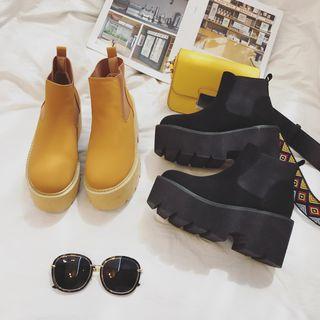 安若 - 厚底短靴
