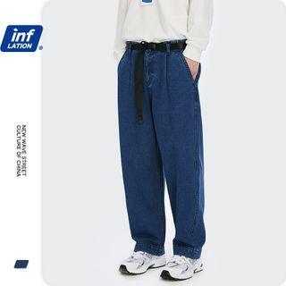 Newin - 宽松直筒牛仔裤