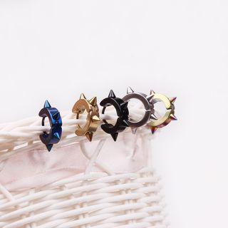 Prushia - 迷你圈環耳環