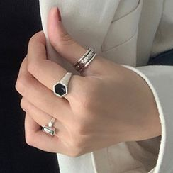 Korrs - 925 纯银开口戒指 (多款设计)