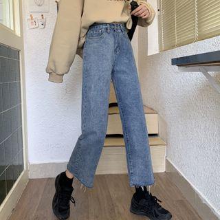 Dreamkura - 九分直筒牛仔裤