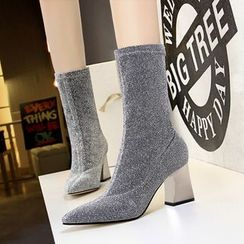 TREL(テレル) - Faux Suede Ankle Boots