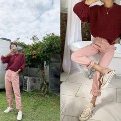 NANING9 - Cotton Baggy Pants