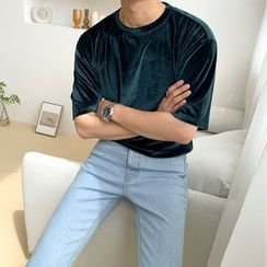 MRCYC - Short-Sleeve Velvet T-Shirt
