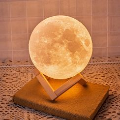 Cloud Forest - USB 月亮形狀夜燈