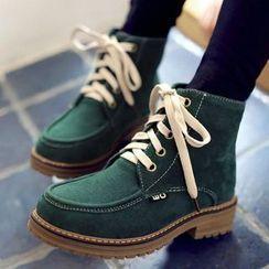 Aegina - 繫帶短靴