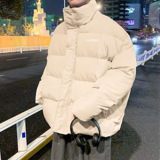 Newise - Lettering Padded Coat