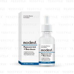 modest - Hyaluronic Acid + Beta-Glucan Serum