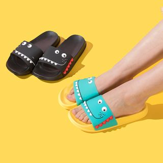 Cutie Bazaar - Dinosaur Print Home Slippers