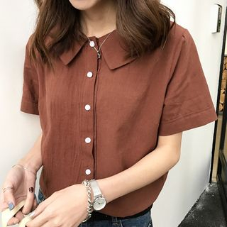 Dute - Short-Sleeve Blouse