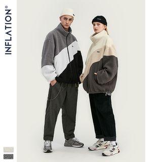 Newin - Unisex Color-Block Fleece Jacket