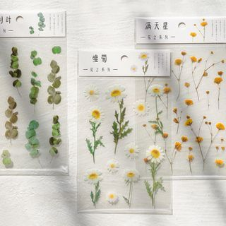 Monez - Plant-Themed Sticker Set (Various Designs)
