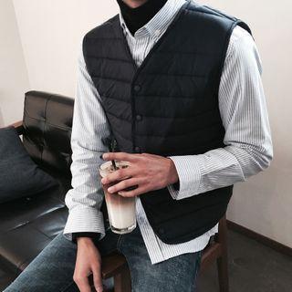 MRCYC - Padded Snap Button Vest