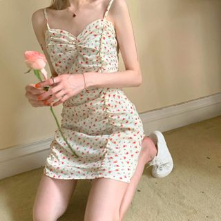 Alfie - Floral Slim-Fit Sleeveless Dress