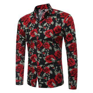 YIKES(ヤイクス) - Rose Print Shirt