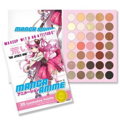 RUDE - Manga Anime 35 Eyeshadow Palette - Book 2, 52.5g
