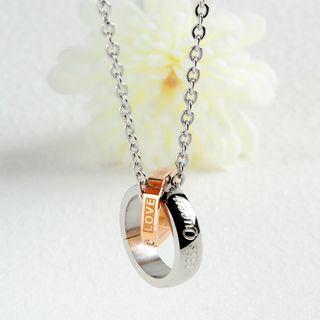 Tenri - Couple Matching Rhinestone Necklace