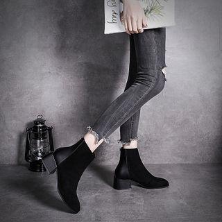 Cymbeline - Block Heel Short Boots