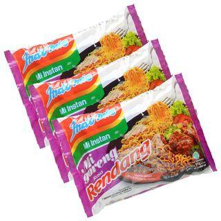Grainee Foods - Indomie Stir Noodle Beef Rendang Flavor (3 packs)