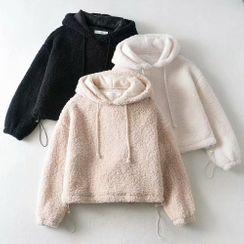 Soleil 1990 - 仿羊毛連帽衫