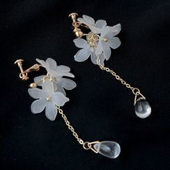 Cometto - Floral Drop Earrings