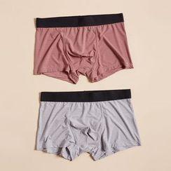 Minuola - 條紋平腳內褲