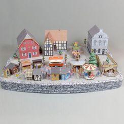 EZ Paper Things - Town DIY 3D Paper Craft