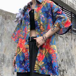 2DAWGS - Printed Elbow-Sleeve Shirt