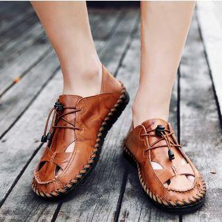 MARTUCCI - Faux-Leather Sandals