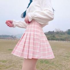 Yoshimi - 格纹打褶裙