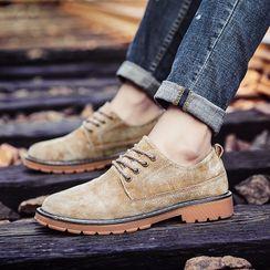 MARTUCCI - 真麂皮系带鞋