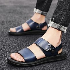 BELLOCK - Faux Leather Sandals