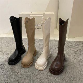 YAZZIONE - Platform Knee-High Boots